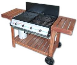 Barbecue a gas completi da giardino cosma set completi for Completi da giardino